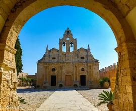monastery arkadi - Crete, Greece